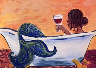 Girl's Night Out Bathing Mermaid